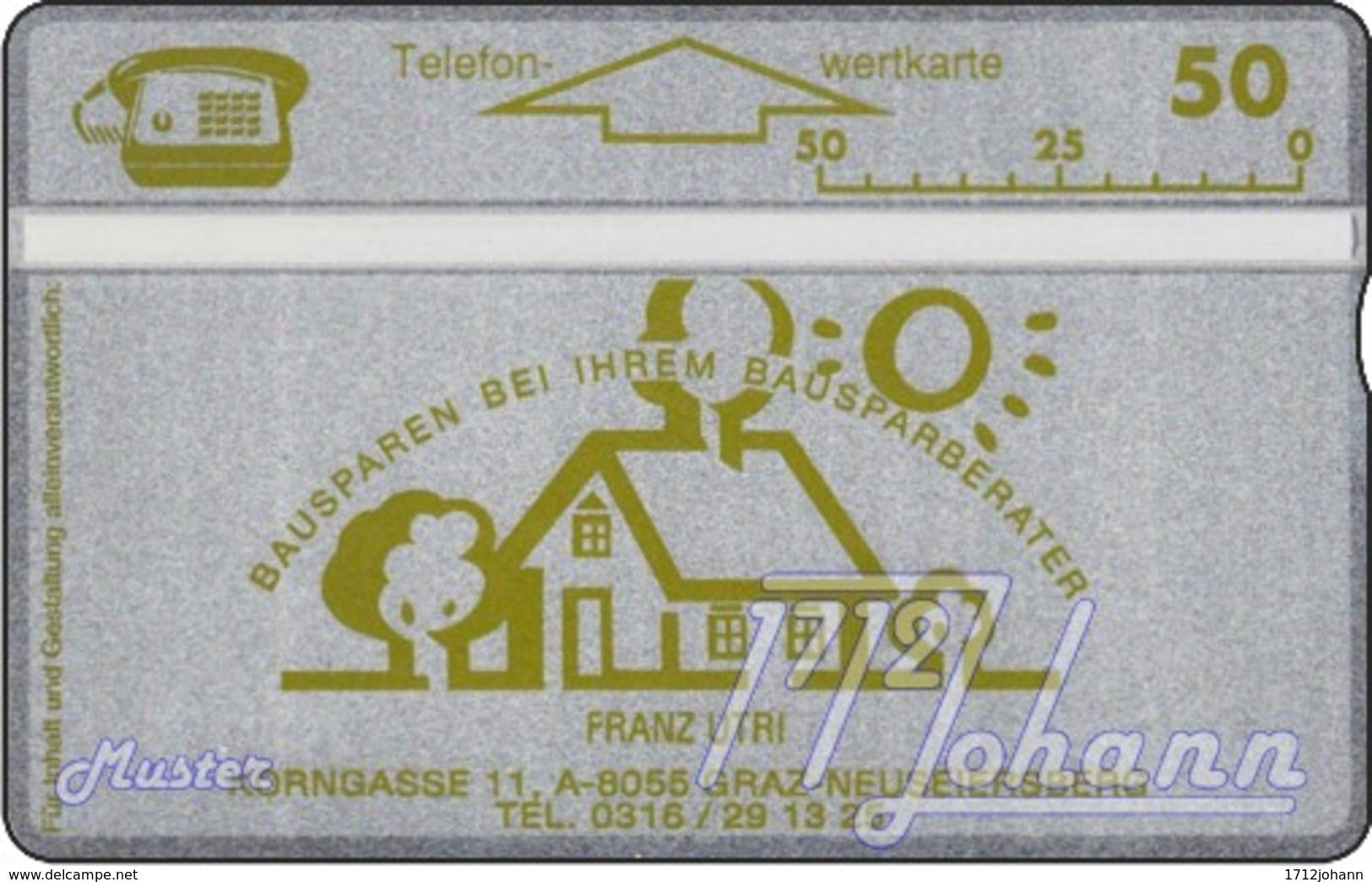 AUSTRIA Private: *Utri - Bausparen* - SAMPLE [ANK P259N] - Oesterreich