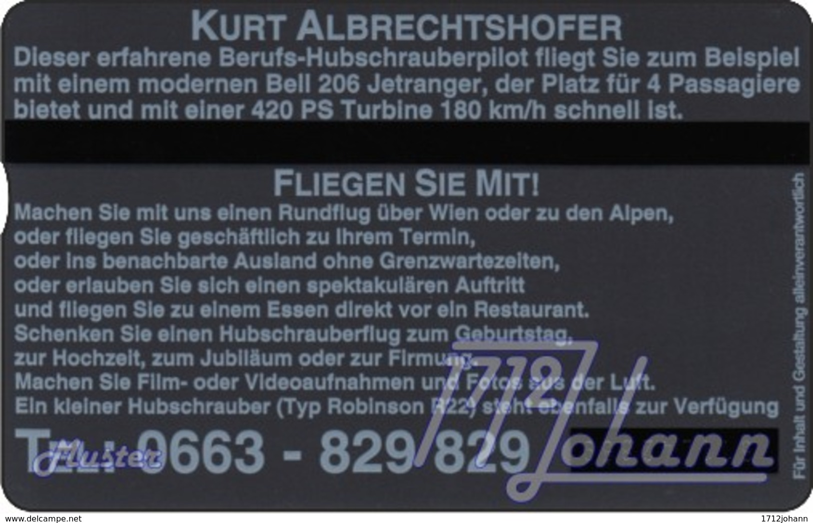 """TWK Österreich Privat: """"Fliegen Sie Mit..."""" Gebr. - Oesterreich"""
