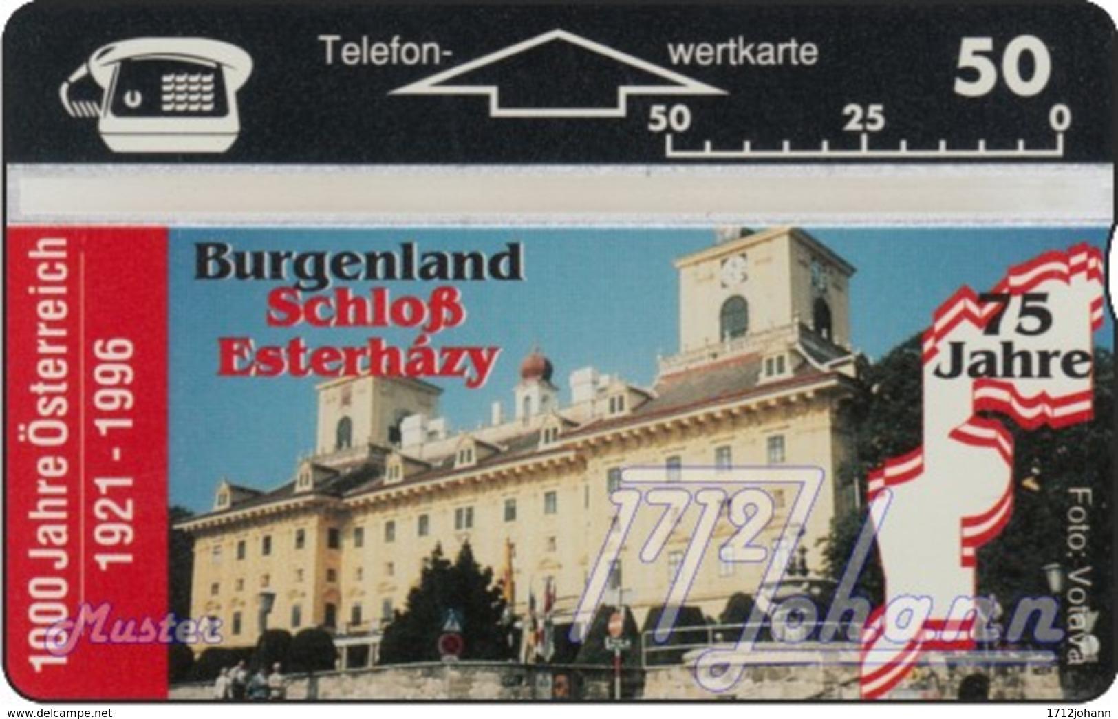 """TWK Österreich Privat: """"1000 J. Österreich - Burgenland"""" Gebr. - Oesterreich"""