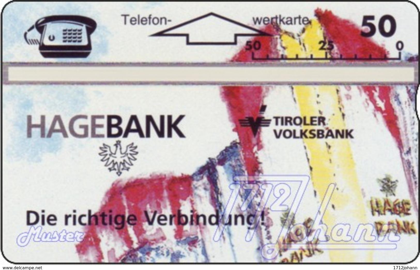 """TWK Österreich Privat: """"Hagebank Tirol"""" (601L) Gebr. - Oesterreich"""