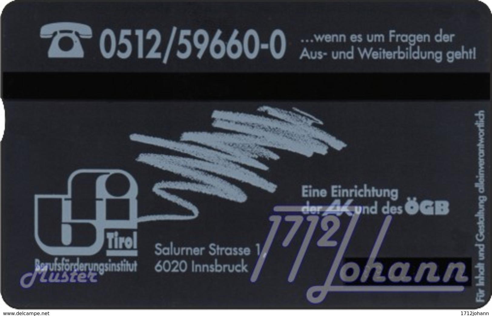"""TWK Österreich Privat: """"BFI Tirol"""" Gebr. - Oesterreich"""