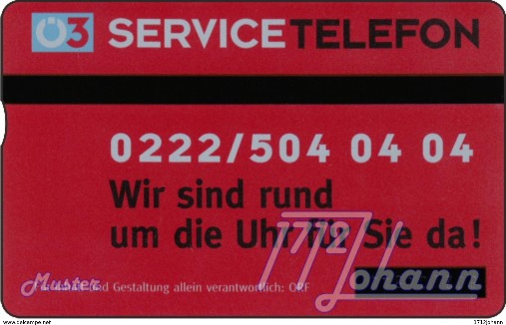 """TWK Österreich Privat: """"Ö3 - 50E"""" Gebr. - Oesterreich"""