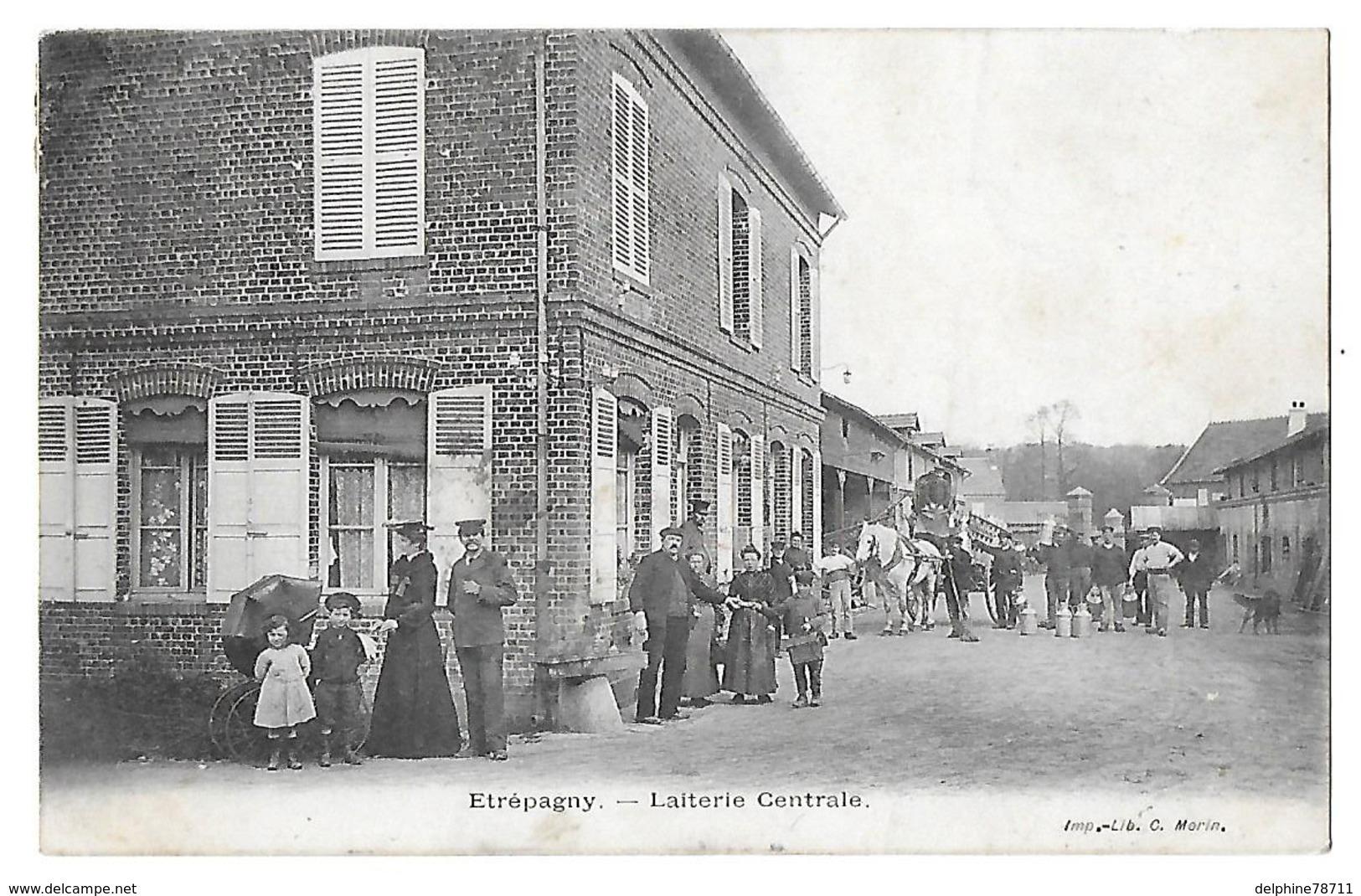 ETREPAGNY - Laiterie Centrale - France