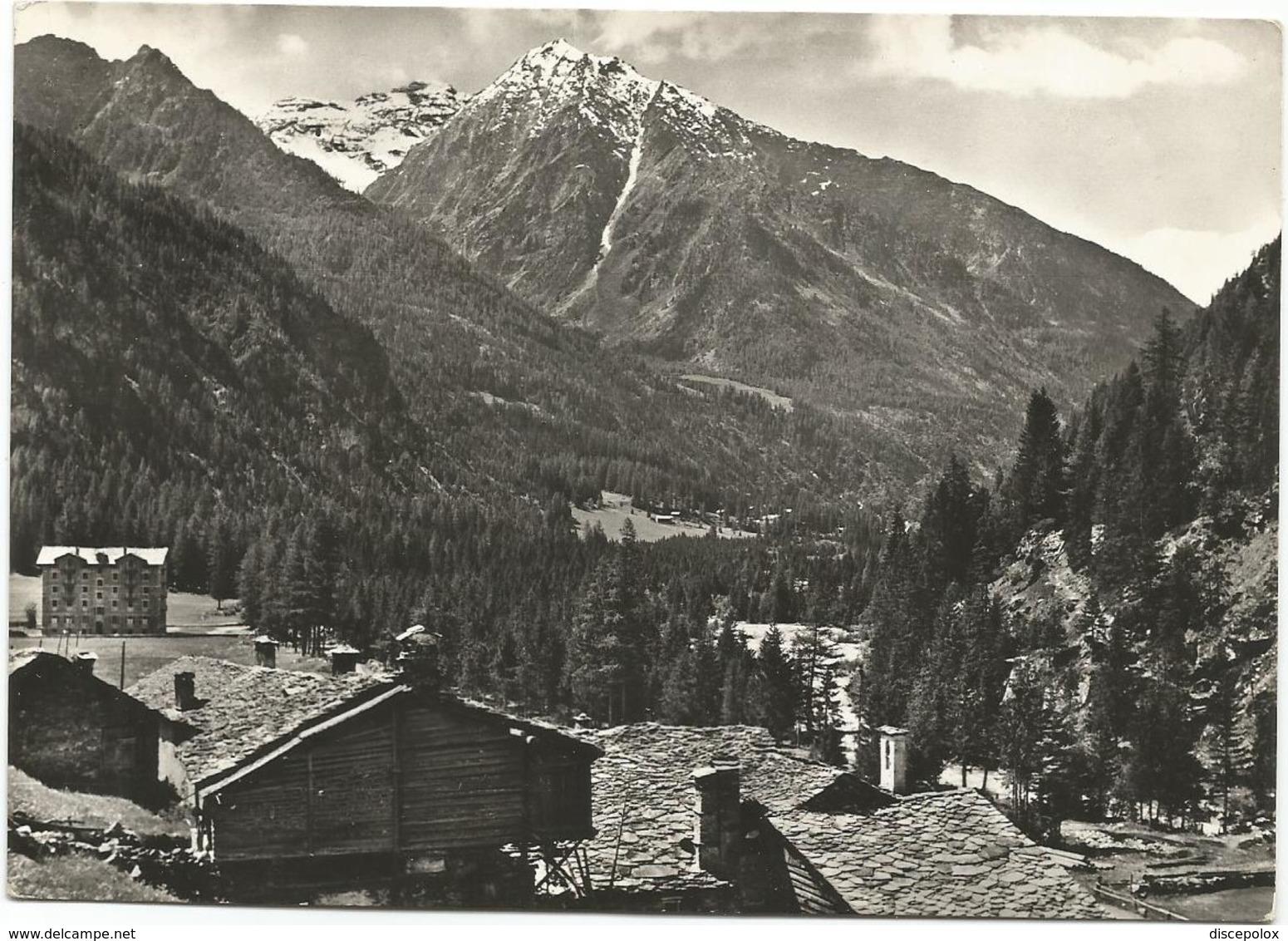 W3615 Val D'Ayas (Aosta) - Panorama / Viaggiata 1956 - Altre Città