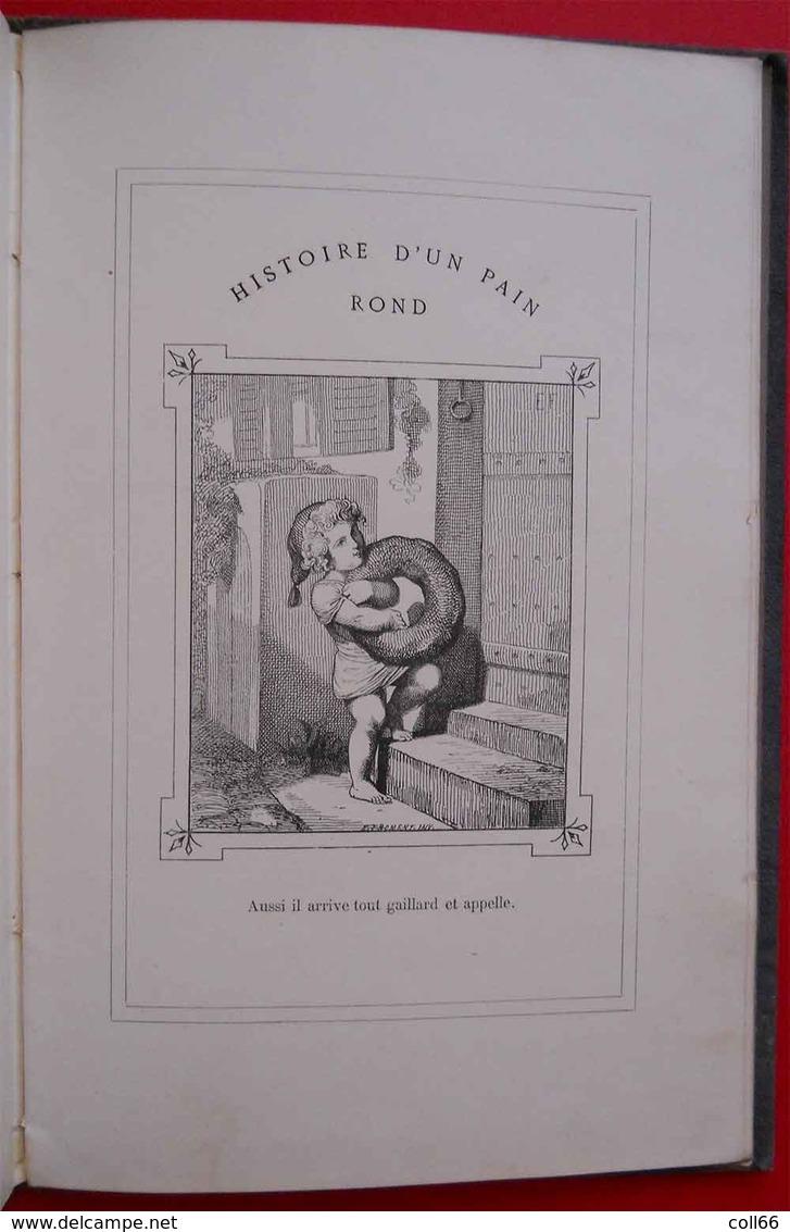 1874 RARE Book Livre Histoire D'un Pain Rond Bread Round Par E.Froment Editeur J.Hetzel Paris 34 Gravures Pleine Page - Books, Magazines, Comics