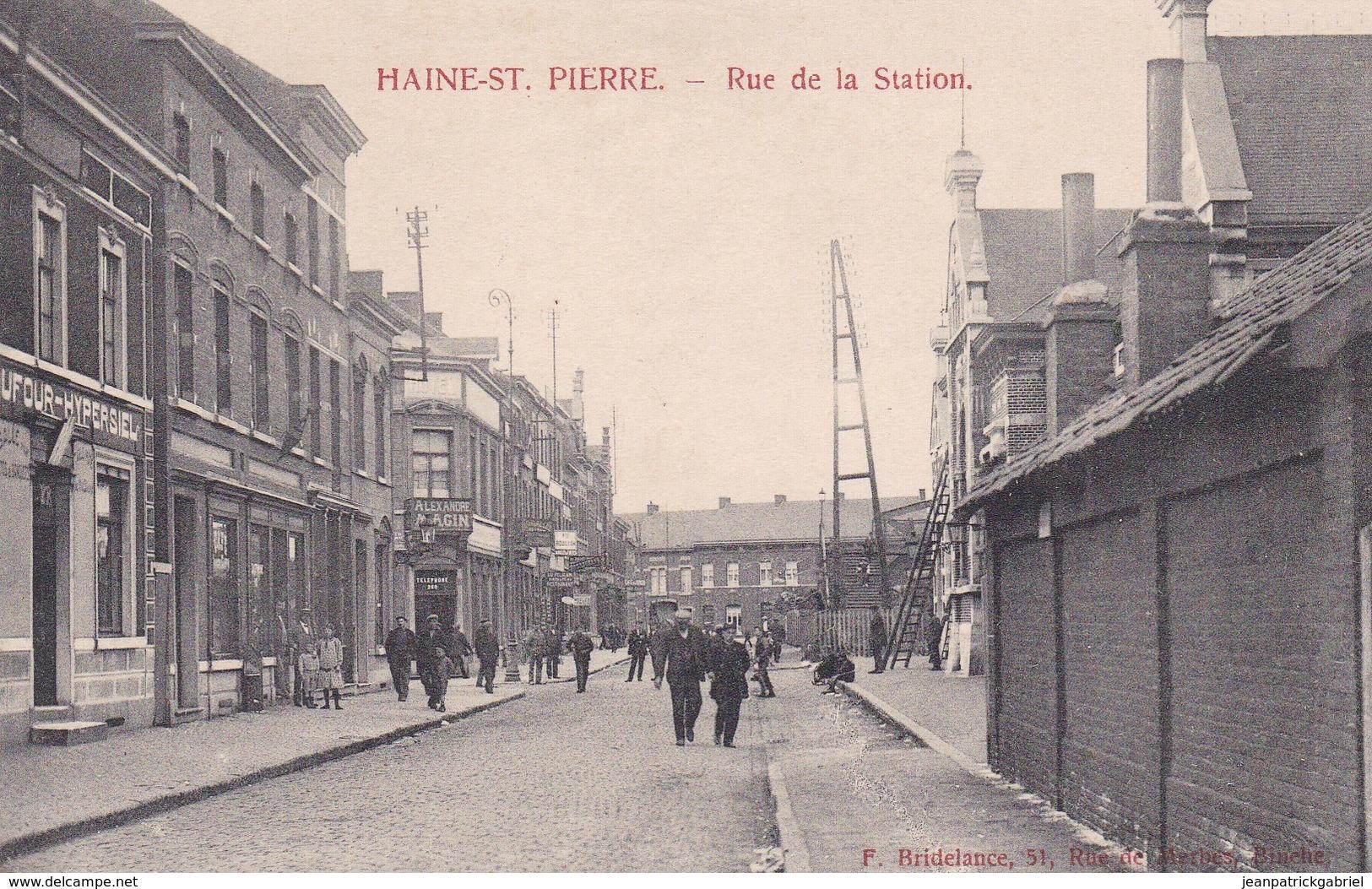 619 Haine Saint Pierre Rue De La Station - Other