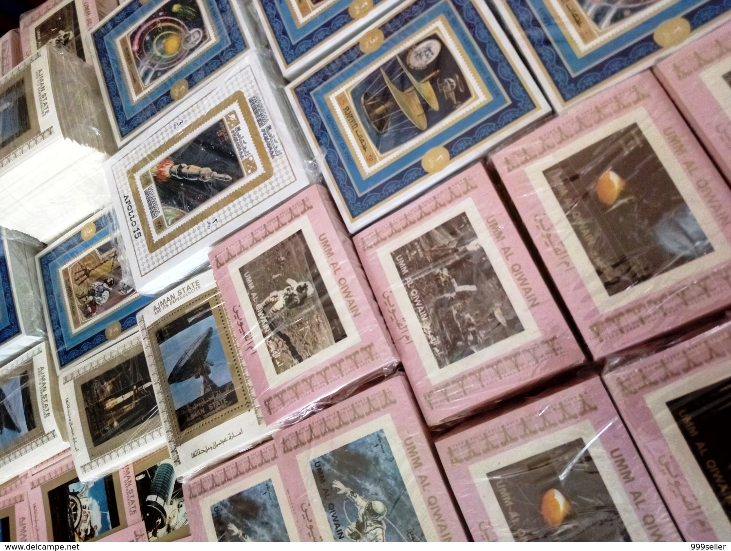 Wholesale 63 Different MNH S/Sheets, SPACE, 70x Years, High CV, FREE SHIPPING - Raumfahrt