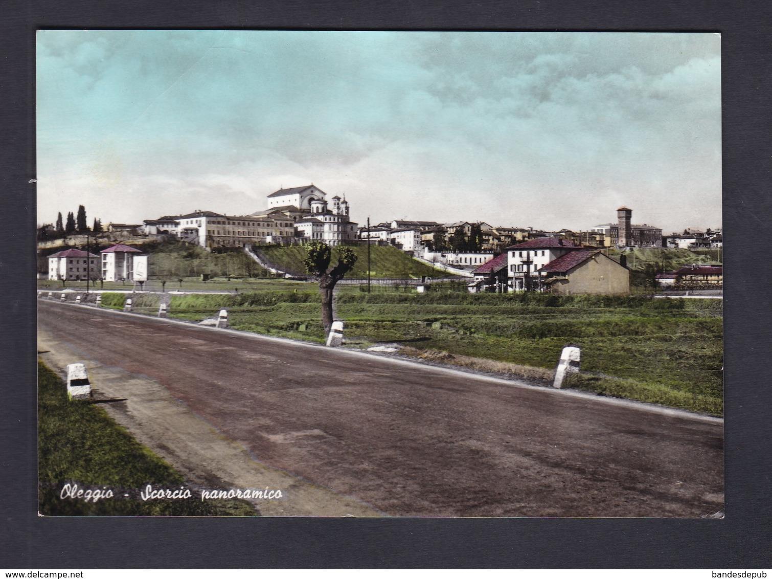OLEGGIO - Scorcio Panoramico ( Ed. Mazzeri ) - Other Cities