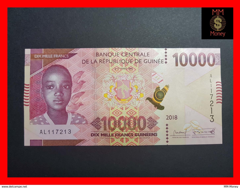 GUINEA 10000 FRANCS 2012 UNC.