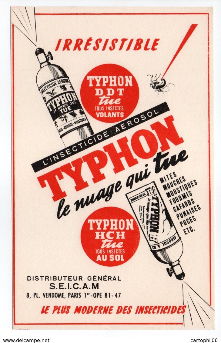 - BUVARD TYPHON - L'INSECTICIDE AEROSOL - - Blotters