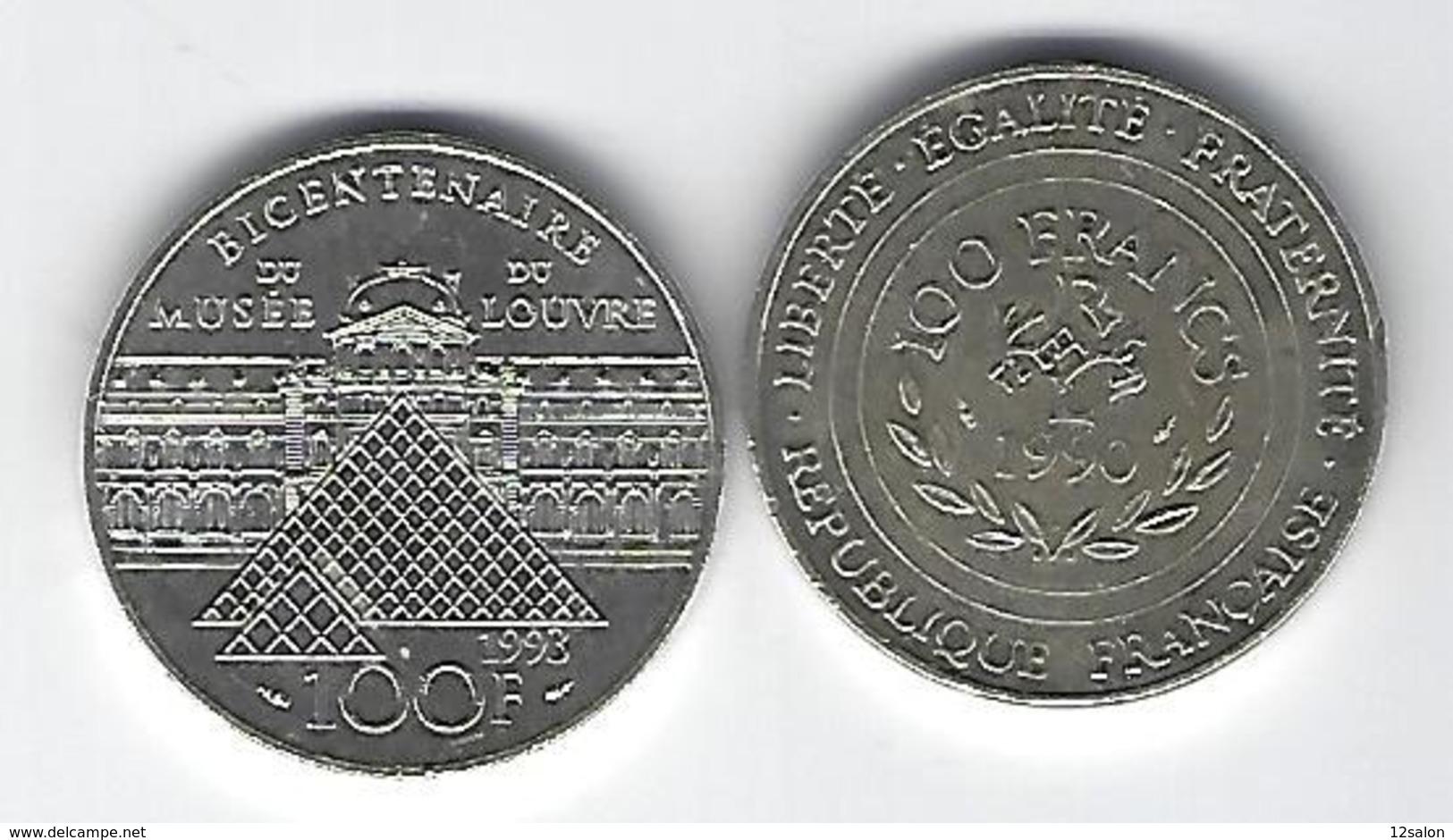 FRANCE  ARGENT 100 Francs X2 - France