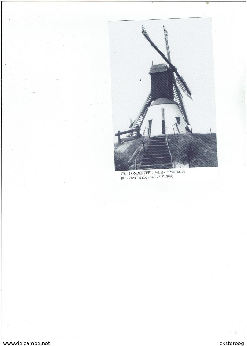 Londerzeel 778 - 't Merlaantje - 1973 Bestaat Nog (foto 1978) - Londerzeel