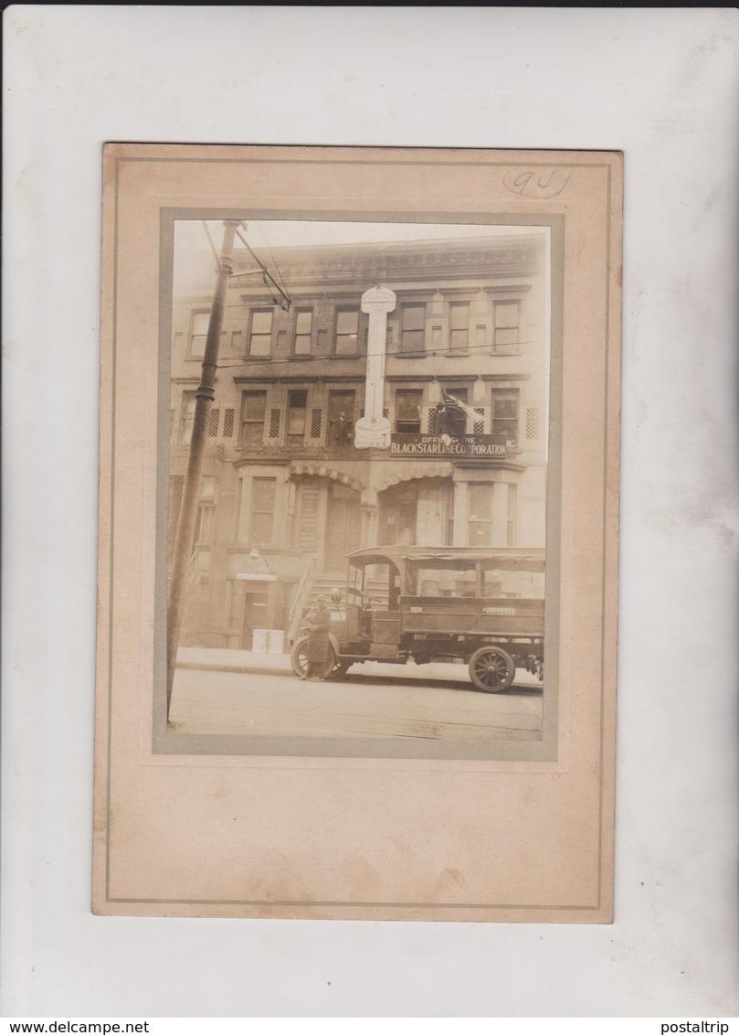Universal Negro Improvement Association OFFICE BUILDINGS OLD BLACK STAR HARLEM   22*15CM Fonds Victor FORBIN 1864-1947 - Lugares