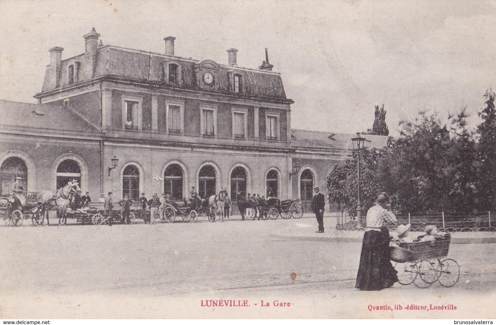 LUNEVILLE -  La Gare - Luneville