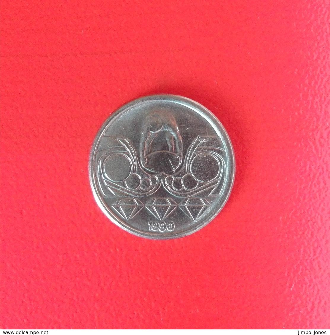 10 Centavos Münze Aus Brasilien Von 1990 (sehr Schön) - Brasilien