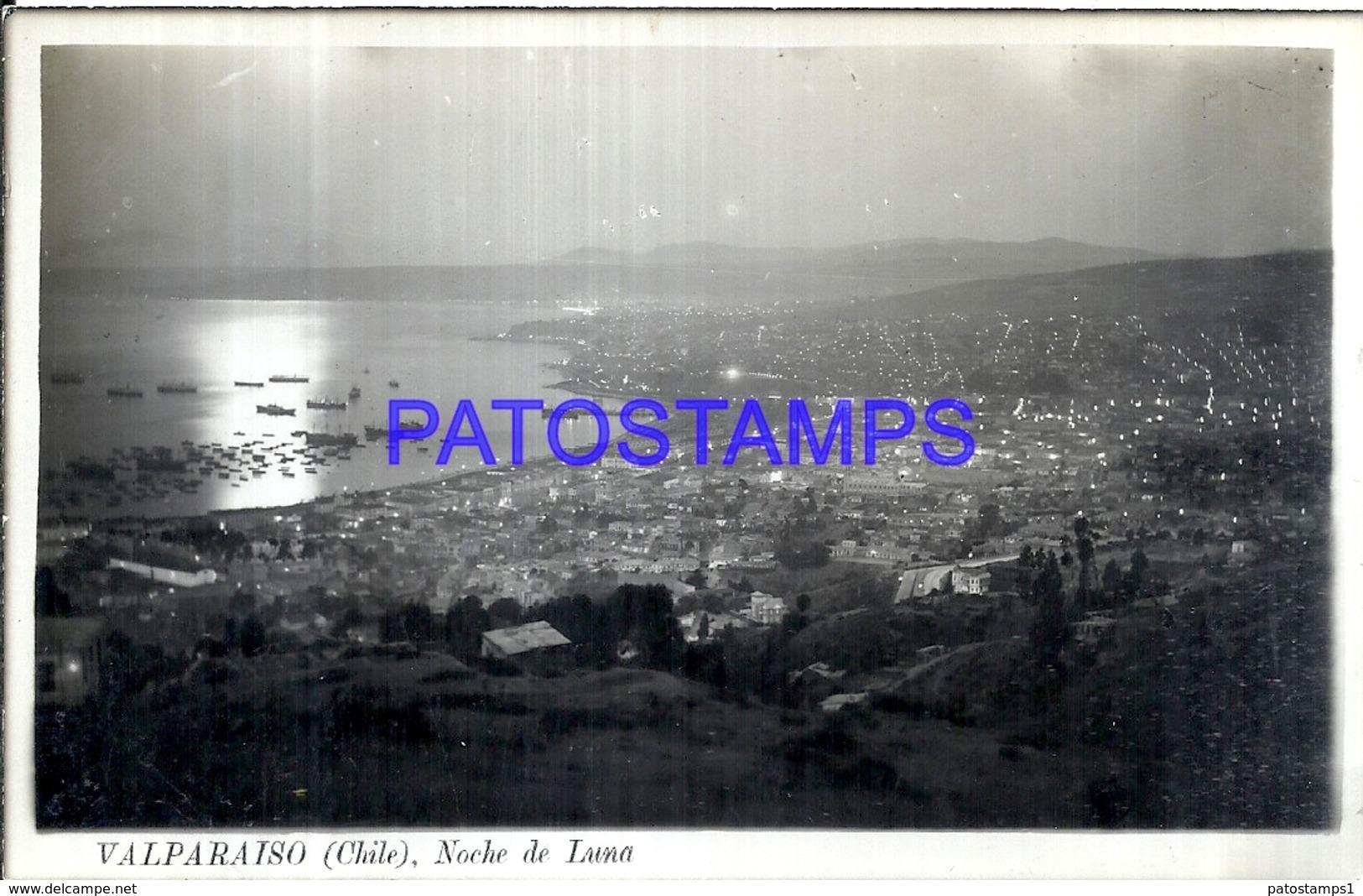 114787 CHILE VALPARAISO VISTA PARCIAL AEREA POSTAL POSTCARD - Chile