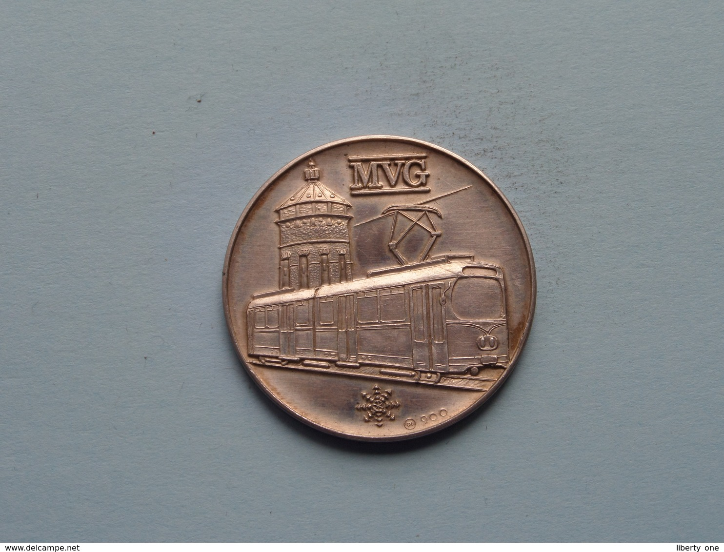 100 Jahre MANNHEIMER STRASSENBAHN 1878 / 1978 - MVG ( 35 Mm. - 14.6 Gr. Silber 900 ) > ( See Photo ) ! - Professionnels/De Société