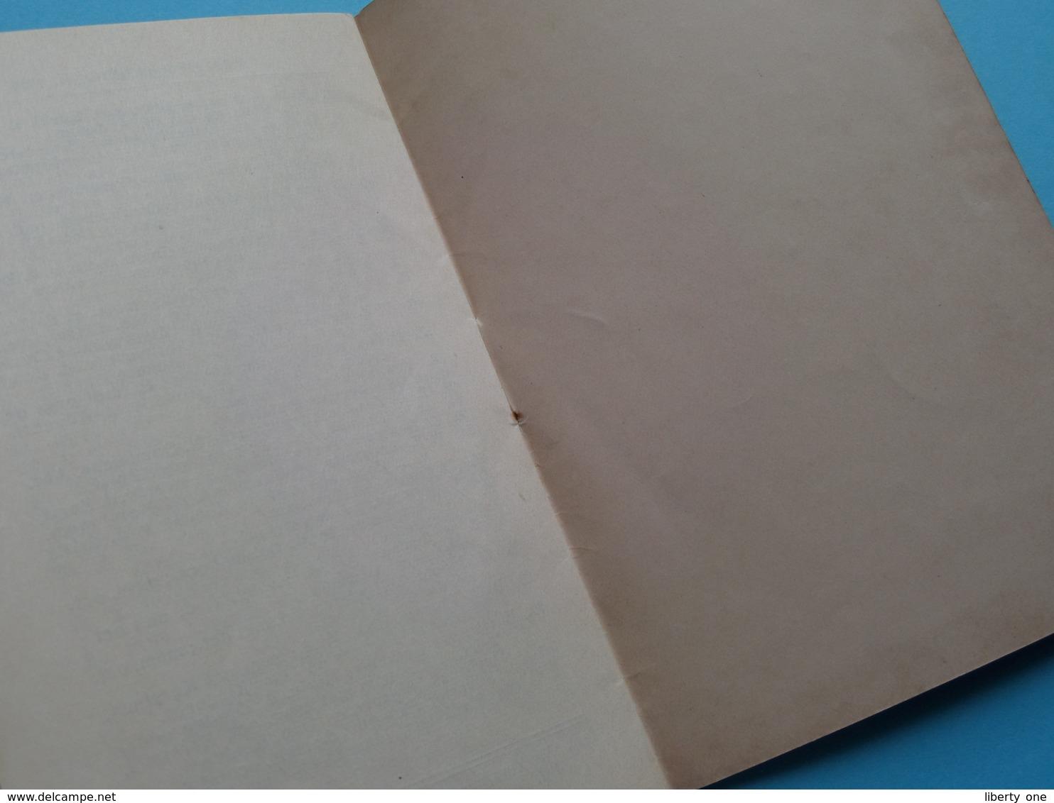 KALENDER Van Het Jaar O.H. 1936 > Misboek Dominicanen ( G. Mosmans 's Hertogenbosch > Zie Foto Voor Detail ) Compleet ! - Calendriers