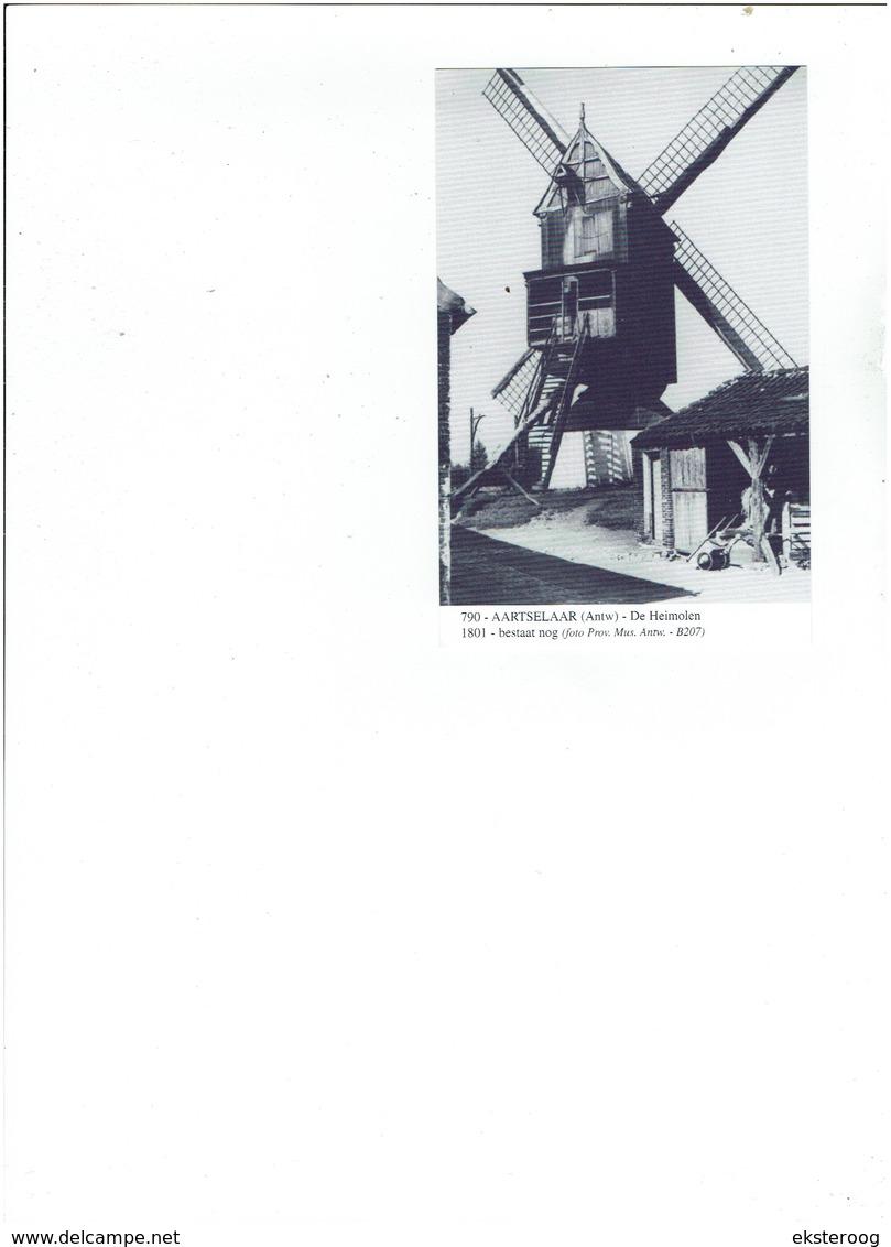 Aarselaar 790 - De Heimolen - 1801-bestaat Nog Foto Pro Mus Antw.b207 - Aartselaar