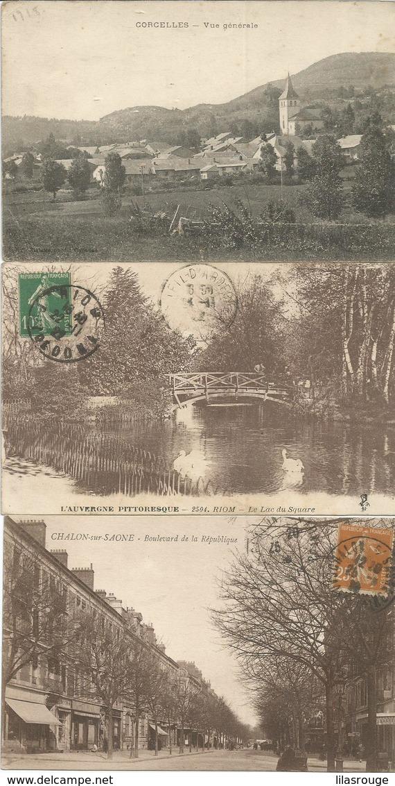 Lot 580 Cartes Cpa - 500 Postcards Min.