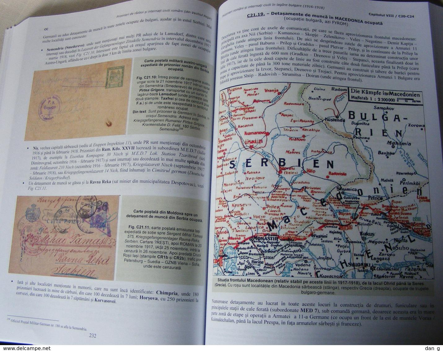 Romania WW1 POW Prisoners 458 P Monograph Austria Hungary Germany Bulgaria Turkey Colour 2019 - Fachliteratur