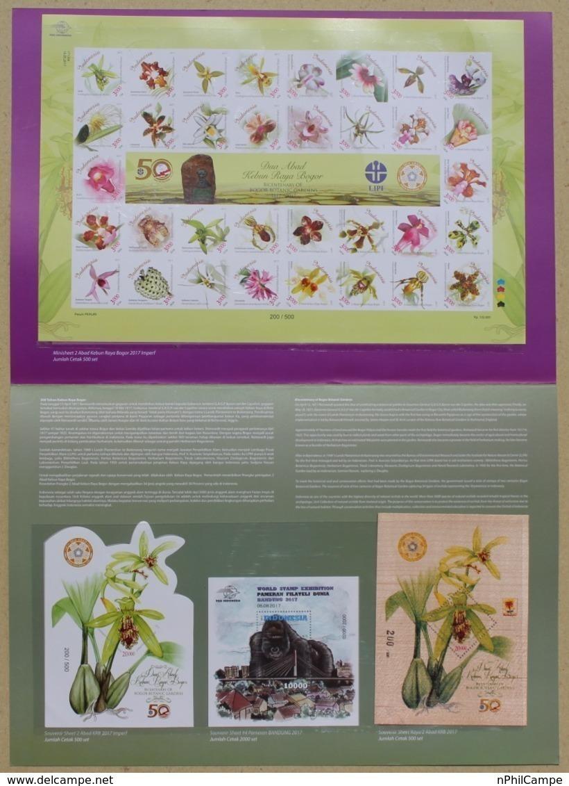 Presentatiepakket Indonesië Bandung 2017 Houten Orchidee Blad Souvenir, Gorilla Blad Souvenir # 4 ALLEEN 500 Stks - Indonesia