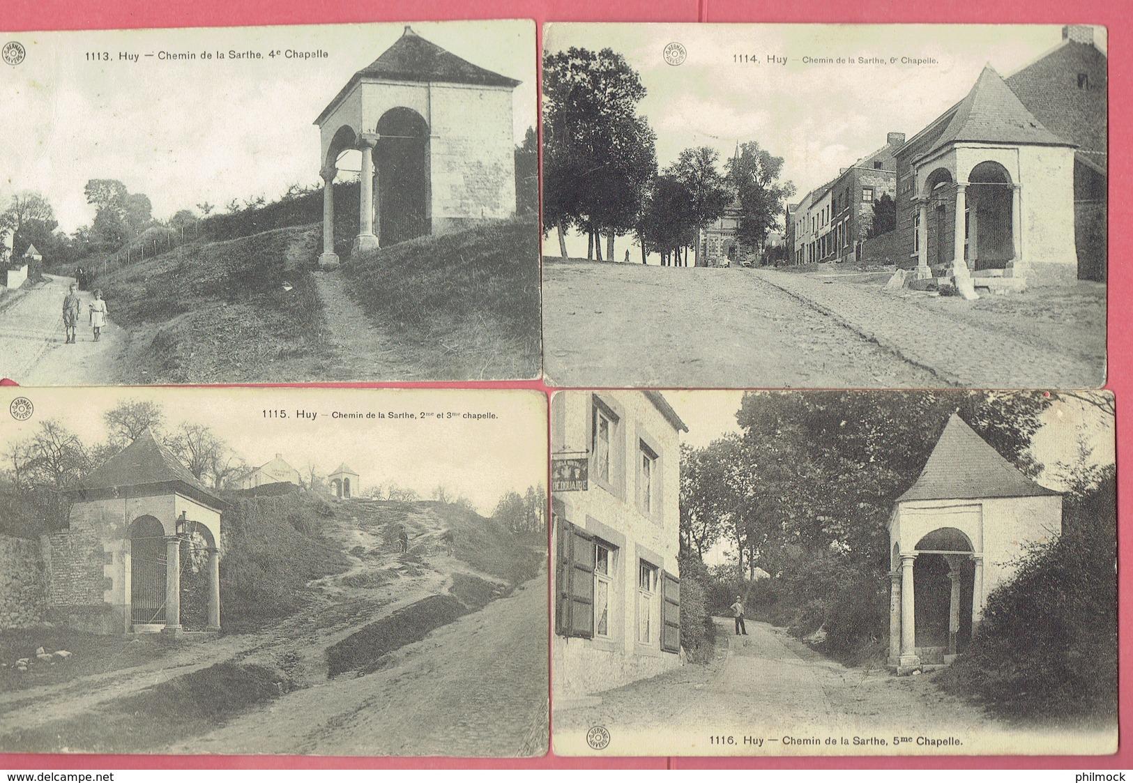 J - Huy - Hoei - 4 CP - 2 Et 3eme - 4eme - 5eme - 6eme Chapelles Du Chemin De La Sarthe  - Déstockage A Petit Prix - Huy