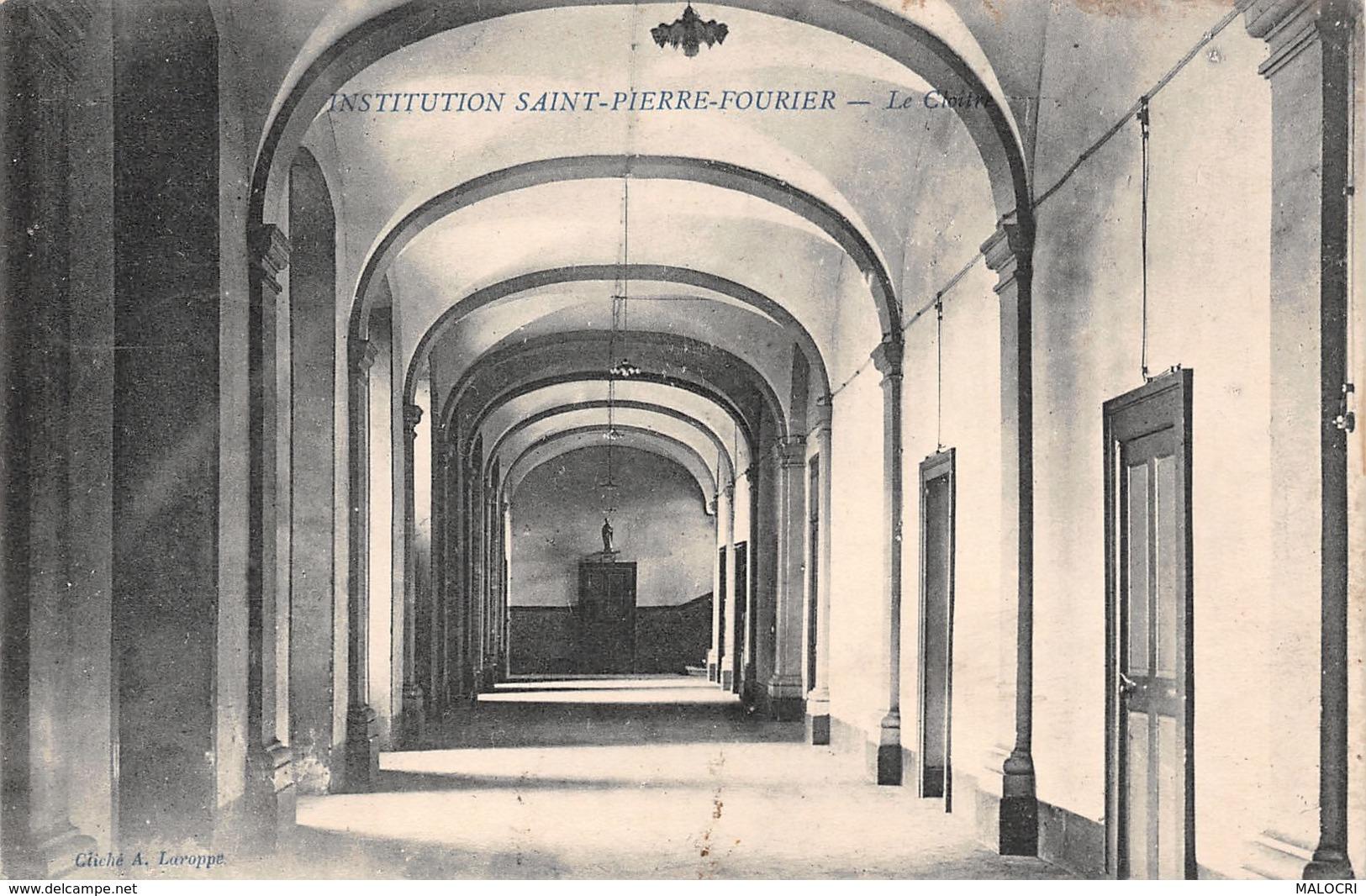 54-LUNEVILLE INSTITUTION SAINT PIERRE FOURIER-N°1176-B/0101 - Luneville