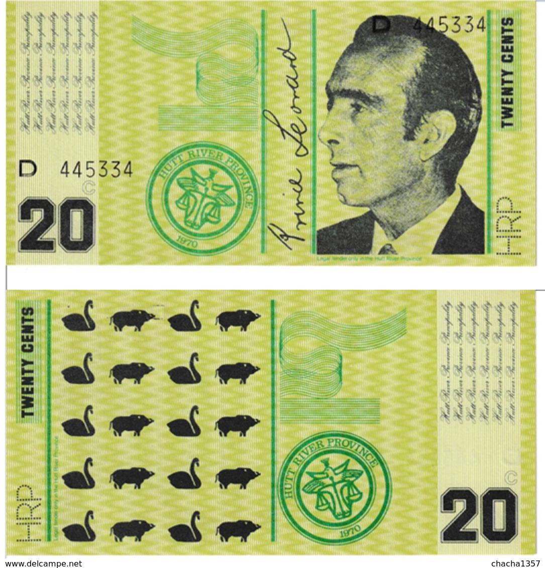 Hutt River  20 Cents - Australia