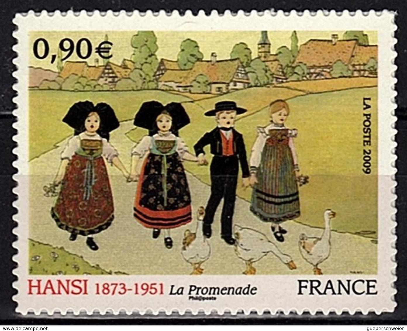 ADH 62 - FRANCE Adhésifs N° 370 Neufs** Hansi Jean-Jacques Waltz - France