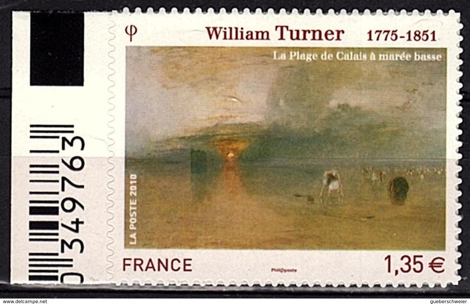 ADH 64 - FRANCE Adhésifs N° 402 Bord De Feuille Neuf** William Turner - Adhésifs (autocollants)