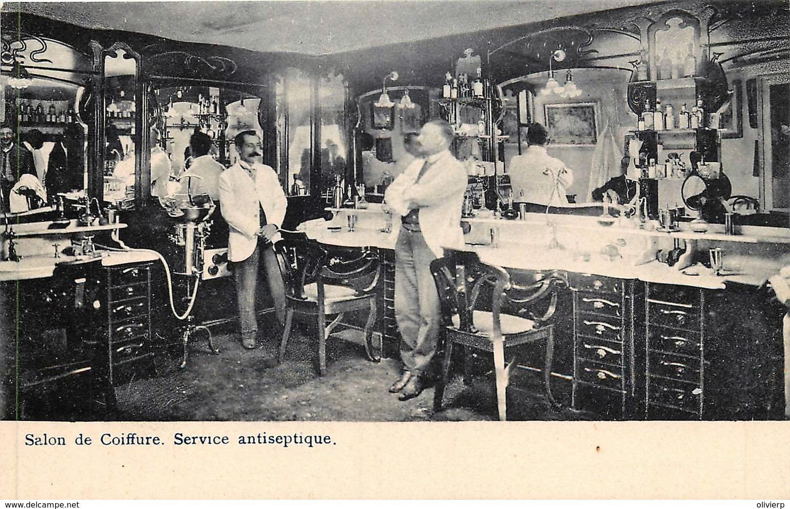 Blankenberghe - Grand-Hôtel - Magasins De Cigares Et Salons De Coiffure - Service Antiseptique - Blankenberge