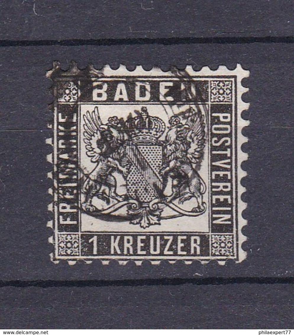 Baden - 1864 - Michel Nr. 17 A - 20 Euro - Baden