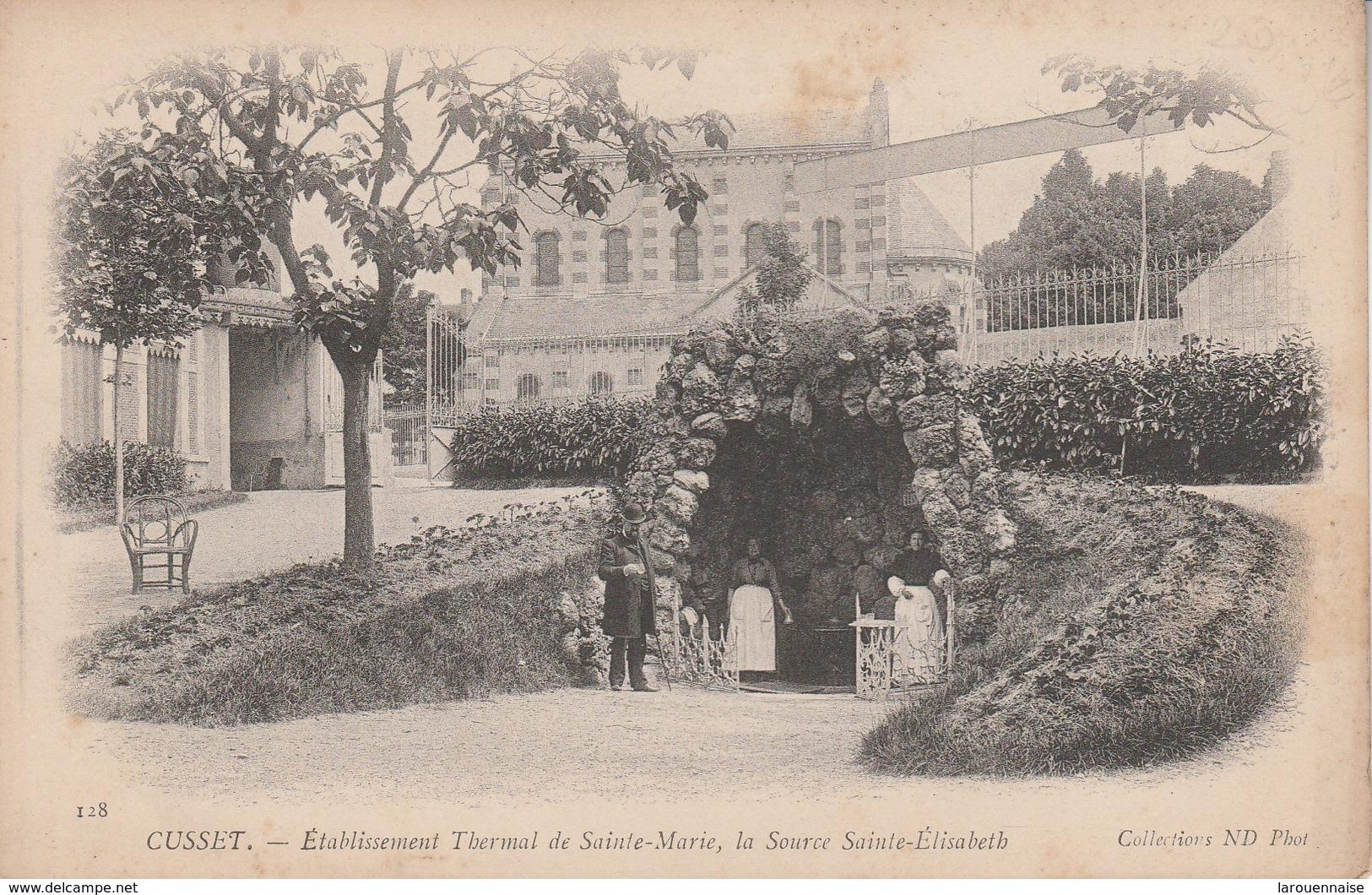 03 - CUSSET - Etablissement Thermal De Sainte Marie, La Source Sainte Elisabeth - France