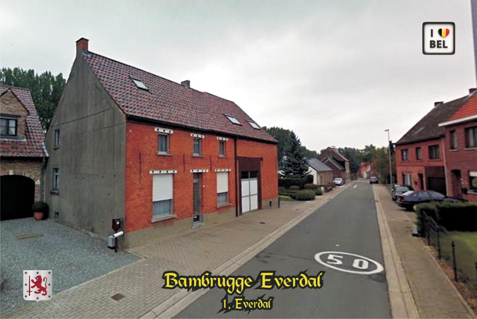 Set 8 Cartes Postales, Transport, Belgium, Bambrugge (Erpe-Mere) Bus Stations - Autobus & Pullman
