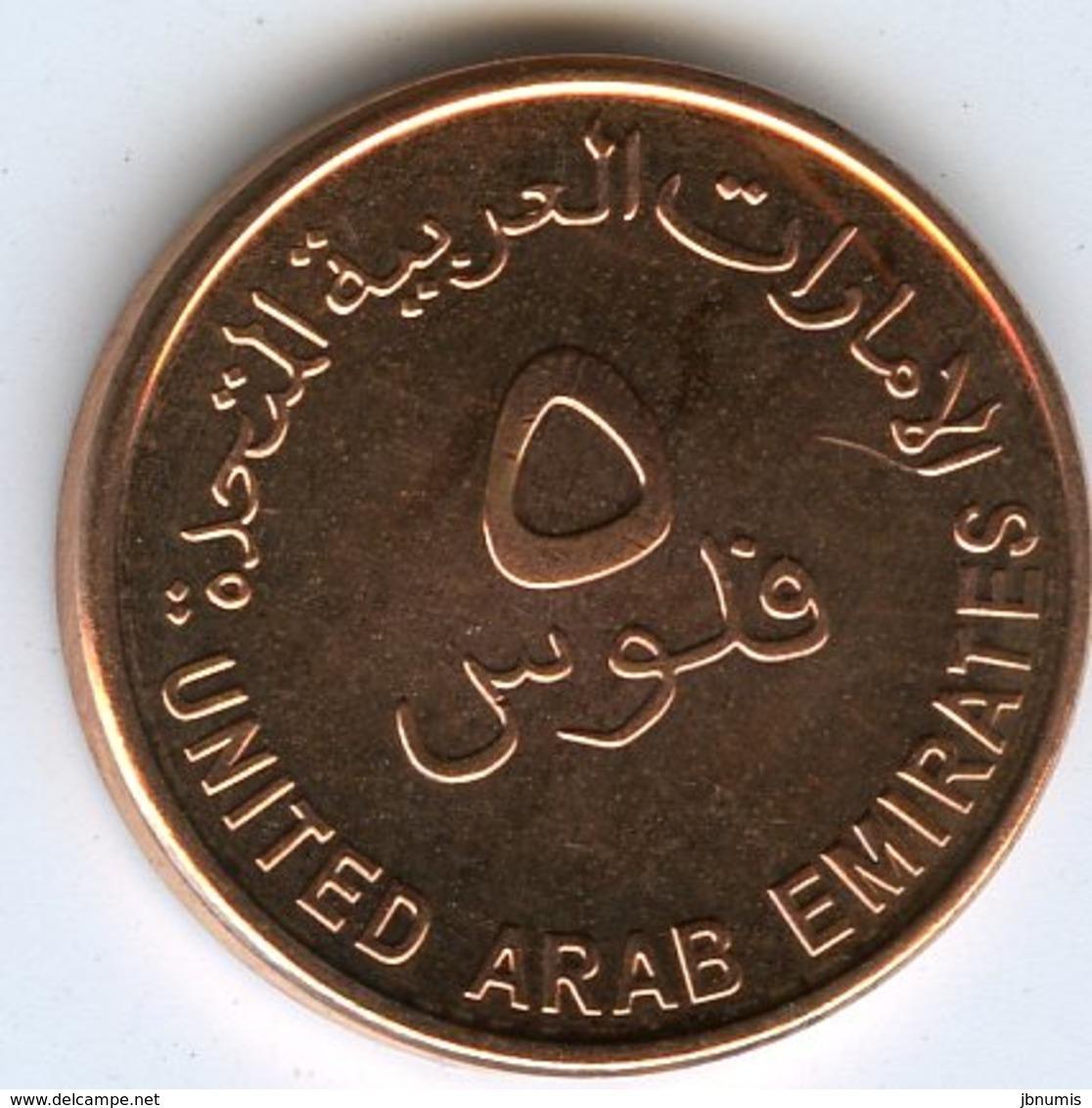 Emirats Arabes Unis United Arab Emirates 5 Fils 1435 - 2014 UNC KM 2.2 - Emirats Arabes Unis
