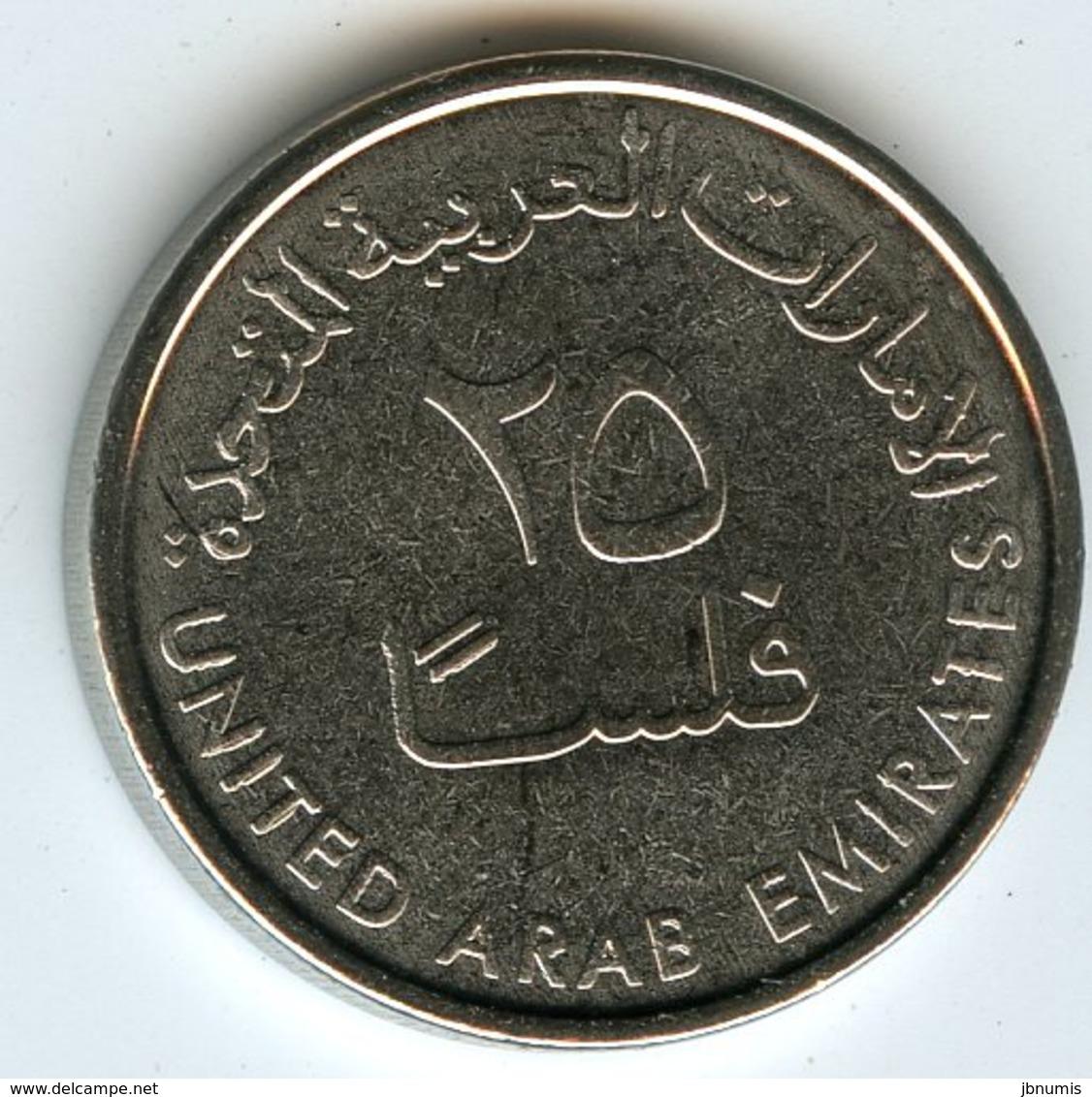Emirats Arabes Unis United Arab Emirates 25 Fils 1438 - 2017 UNC KM 4a - Emirats Arabes Unis