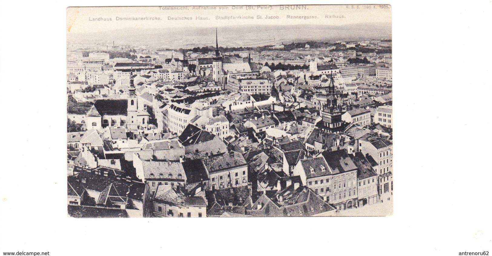 POSTCARD-CZECH-BRUNN-SEE-SCAN - Tschechische Republik