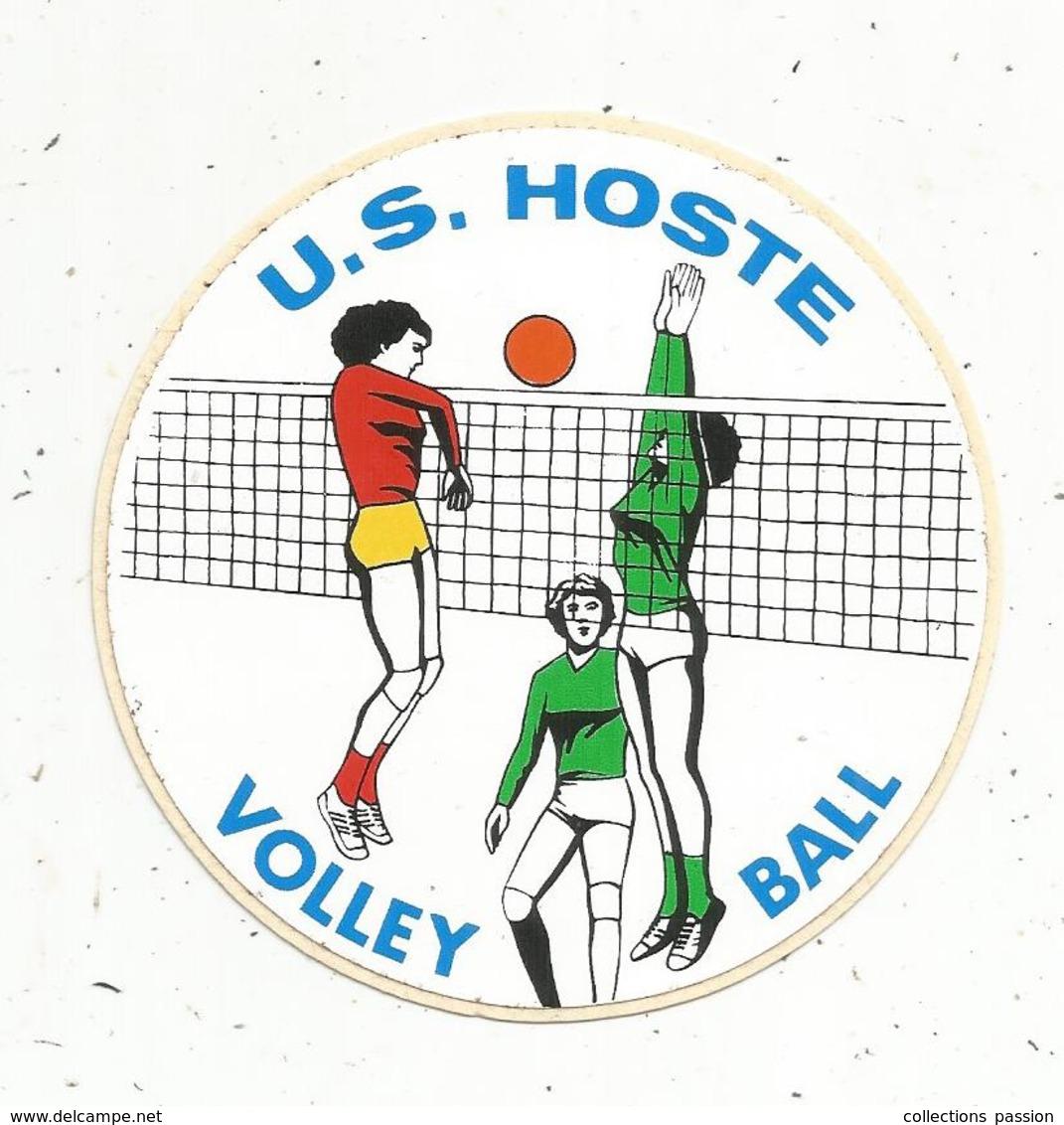 Autocollant , Sports , U.S. HOSTE , VOLLEY BALL ,  MOSELLE - Autocollants