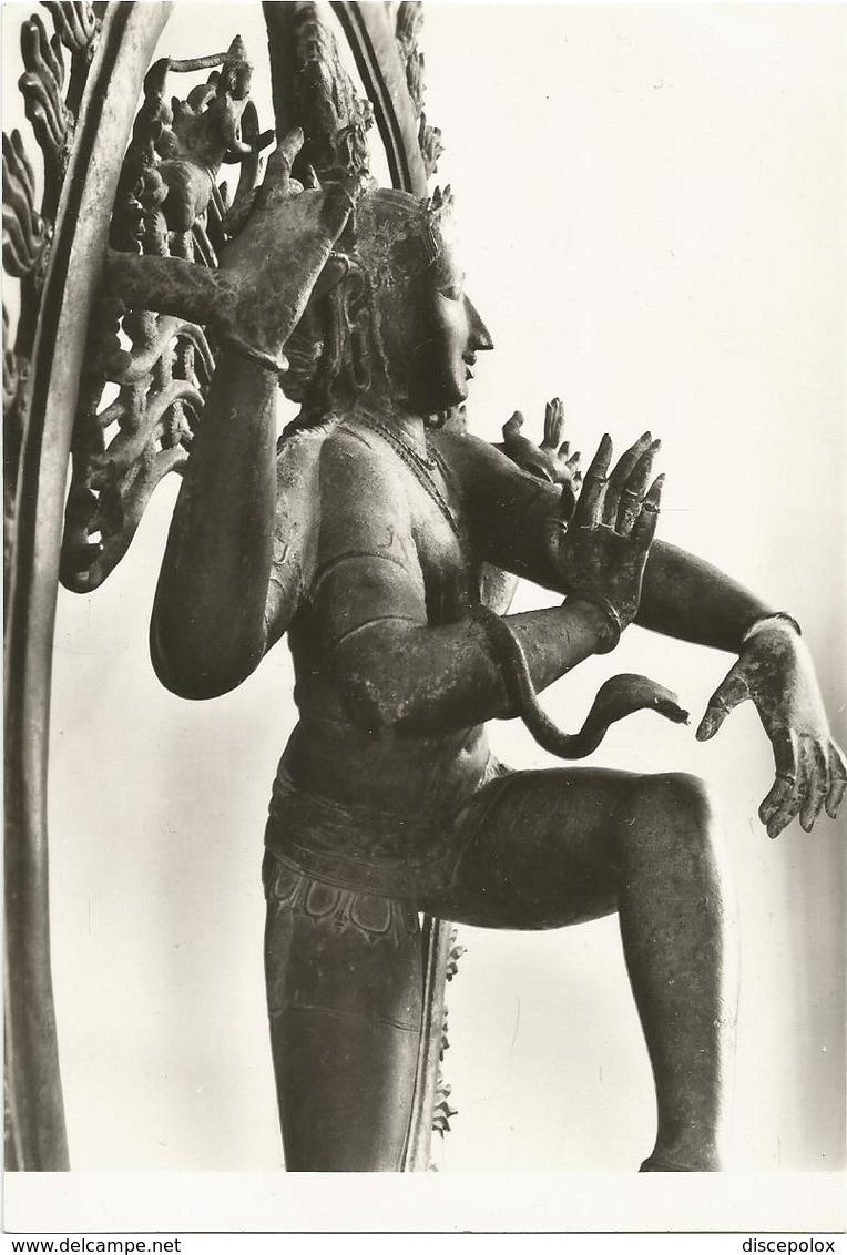 W3670 Museum Van Aziatische Kunst - Stedelijk Museum Amsterdam - çiva Als Koning Der Dansers / Non Viaggiata - Sculture