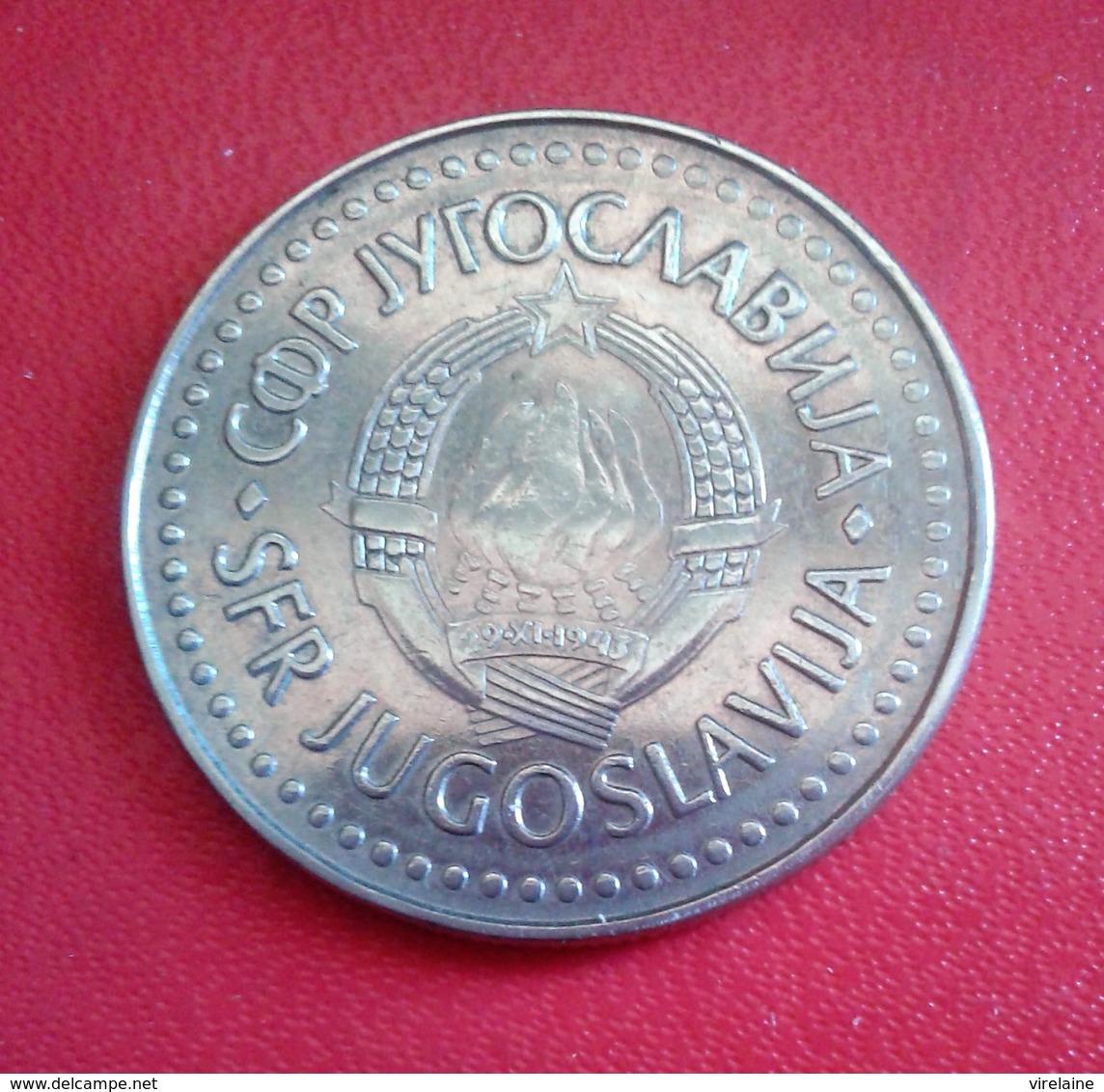 YOUGASLAVIE 100 DINAR  1986 N°171 D - Joegoslavië