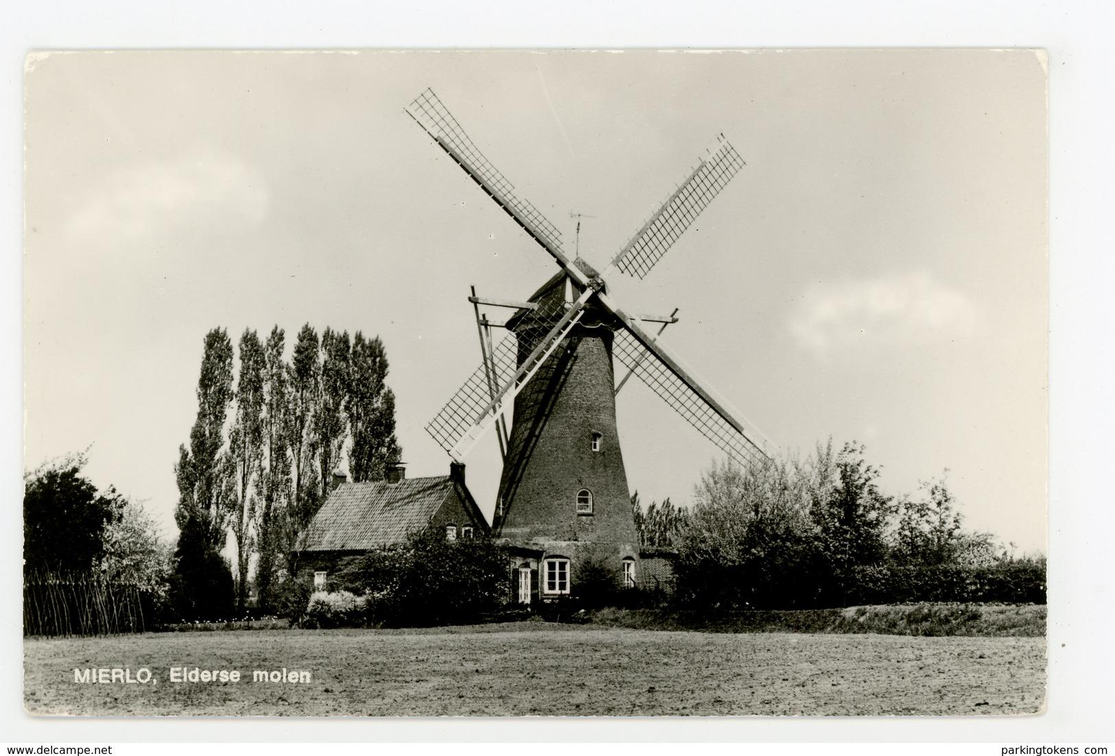 D118 - Mierlo Elderse Molen - Uitg V D Vleuten - Molen - Moulin - Mill - Mühle - Nederland