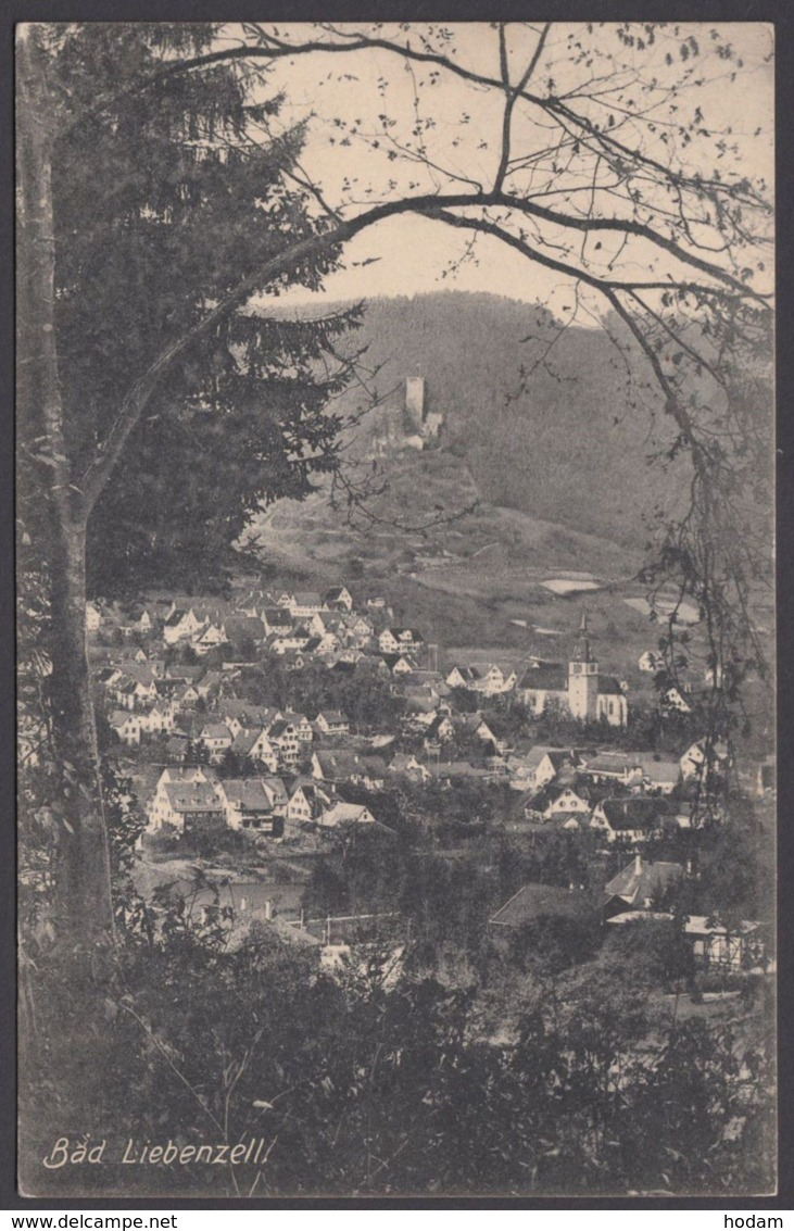 """""""Bad Liebenzell"""", 1914 Gelaufen - Deutschland"""