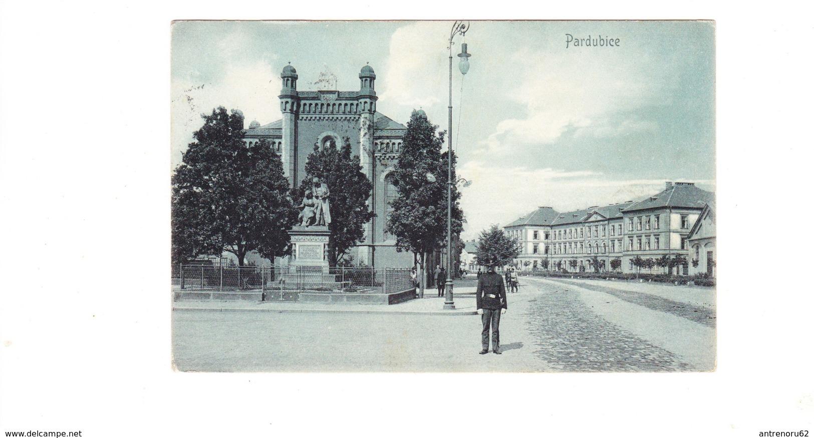 POSTCARD-CZECH-PARDUBICE-SEE-SCAN - Tchéquie