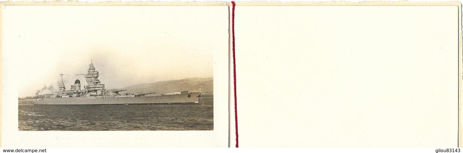 Marine Nationale, Batiment De Ligne Strasbourg, Toulon        (bon Etat) - Bateaux