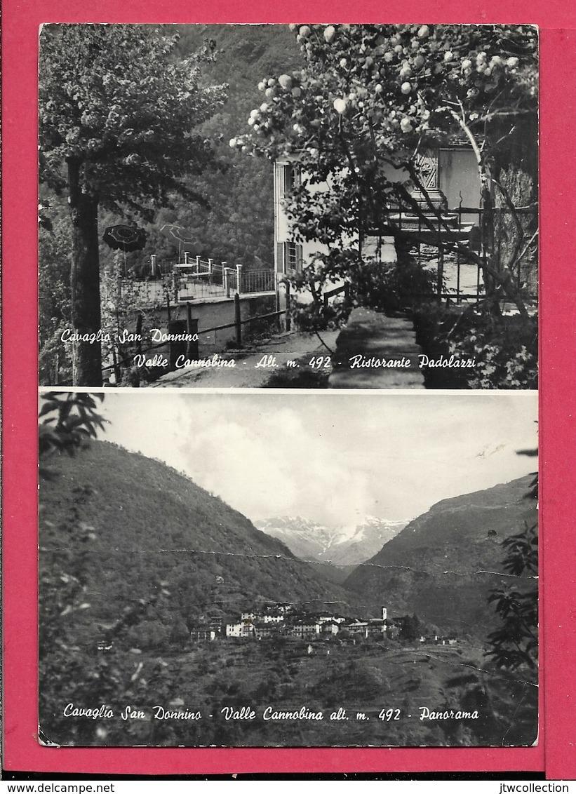 Cavaglio San Donnino (VB) - Viaggiata - Altre Città