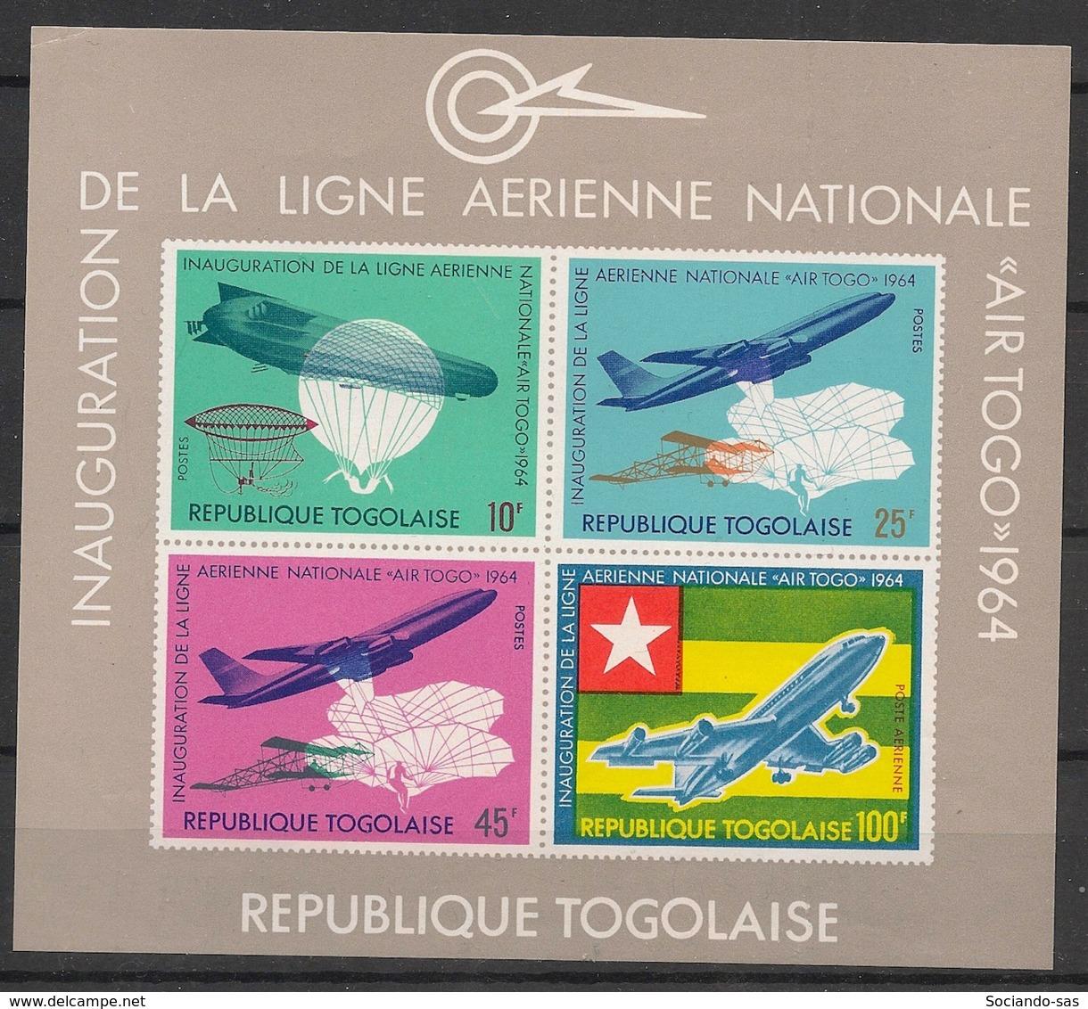 Togo - 1964 - Bloc Feuillet BF N°Yv. 14 - Air Togo - Neuf Luxe ** / MNH / Postfrisch - Togo (1960-...)
