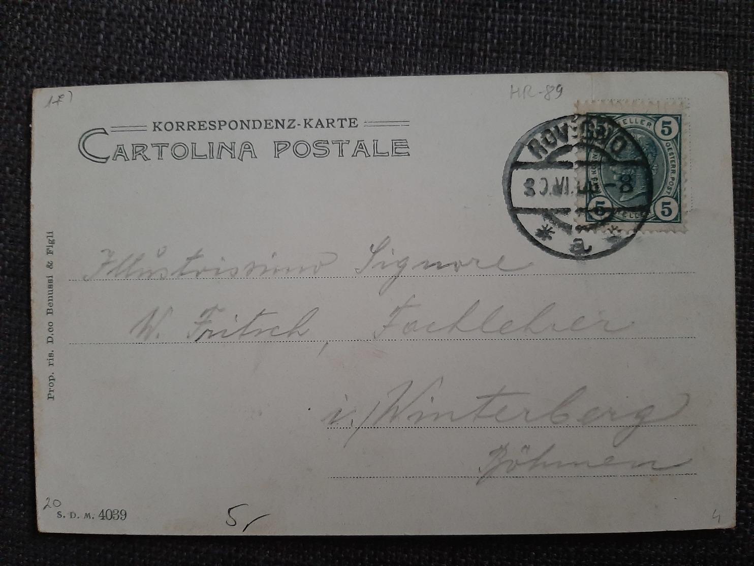 Rovigno - Istria - 1905. SDM - Croatia