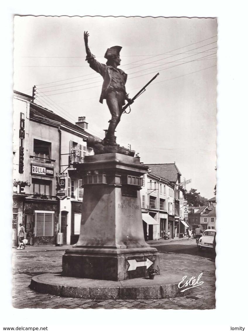 88 Remiremont La Statue Du Volontaire Par Choppin CPSM GF Edit Estel N°7358 Magasin Photo Kodak Rolla - Remiremont