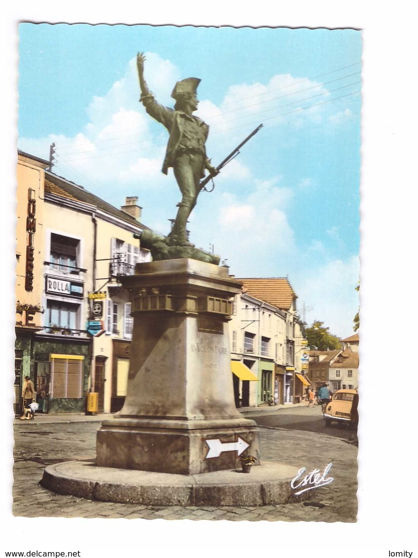 88 Remiremont La Statue Du Volontaire Par Choppin CPSM GF Edit Estel N°7358 Magasin Photo Kodak Rolla Carte Couleur - Remiremont